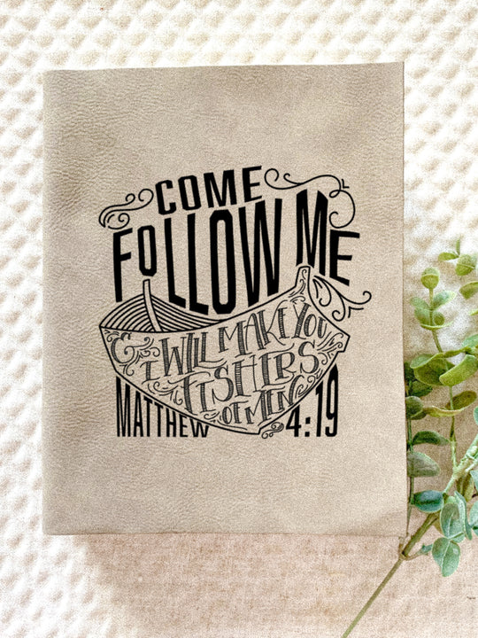 Come Follow Me Engraved Bible