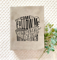 Come Follow Me Engraved Bible - Bibles and Coffee