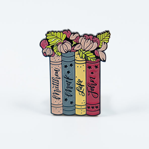 Bible Books Enamel Pin