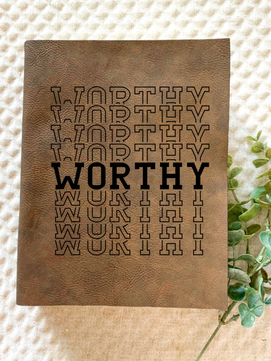 Worthy Engraved Bible