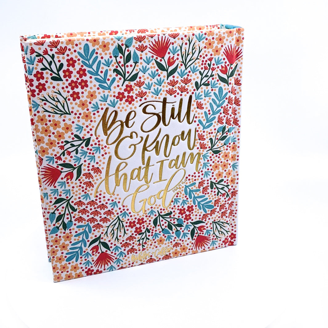 A Floral Story ESV Journaling Bible - Bibles and Coffee