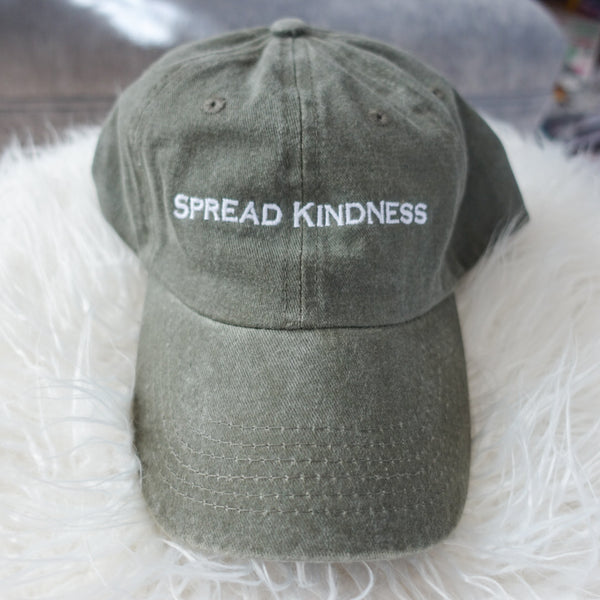 Spread Kindness Embroidered Hat