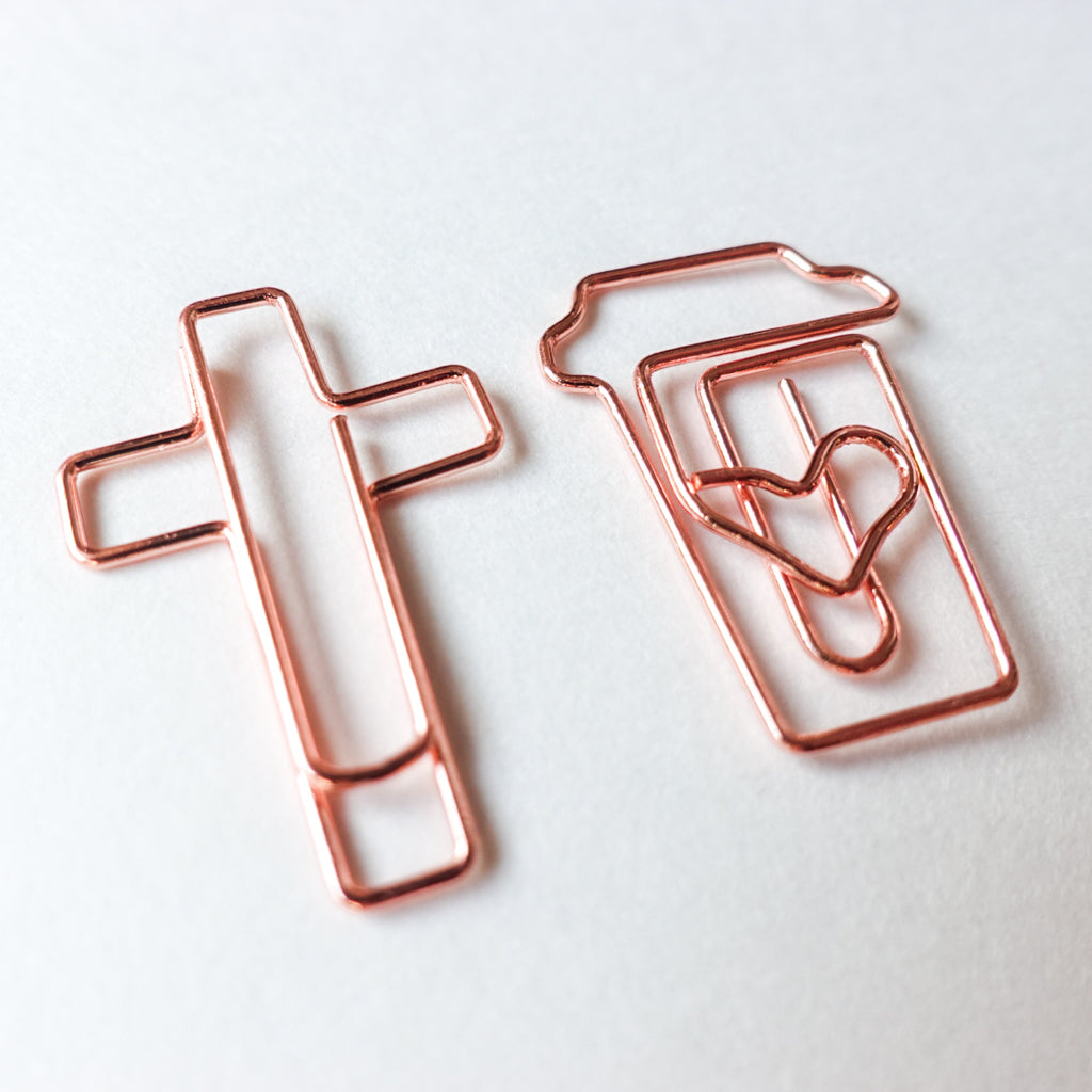 Bible Journaling Paper Clips (10 pcs) - Bibles and Coffee