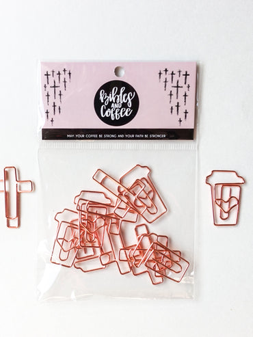 Bible Journaling Paper Clips (10 pcs)
