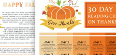 Thanksgiving Reading Plan 2019 - Bibles and Coffee