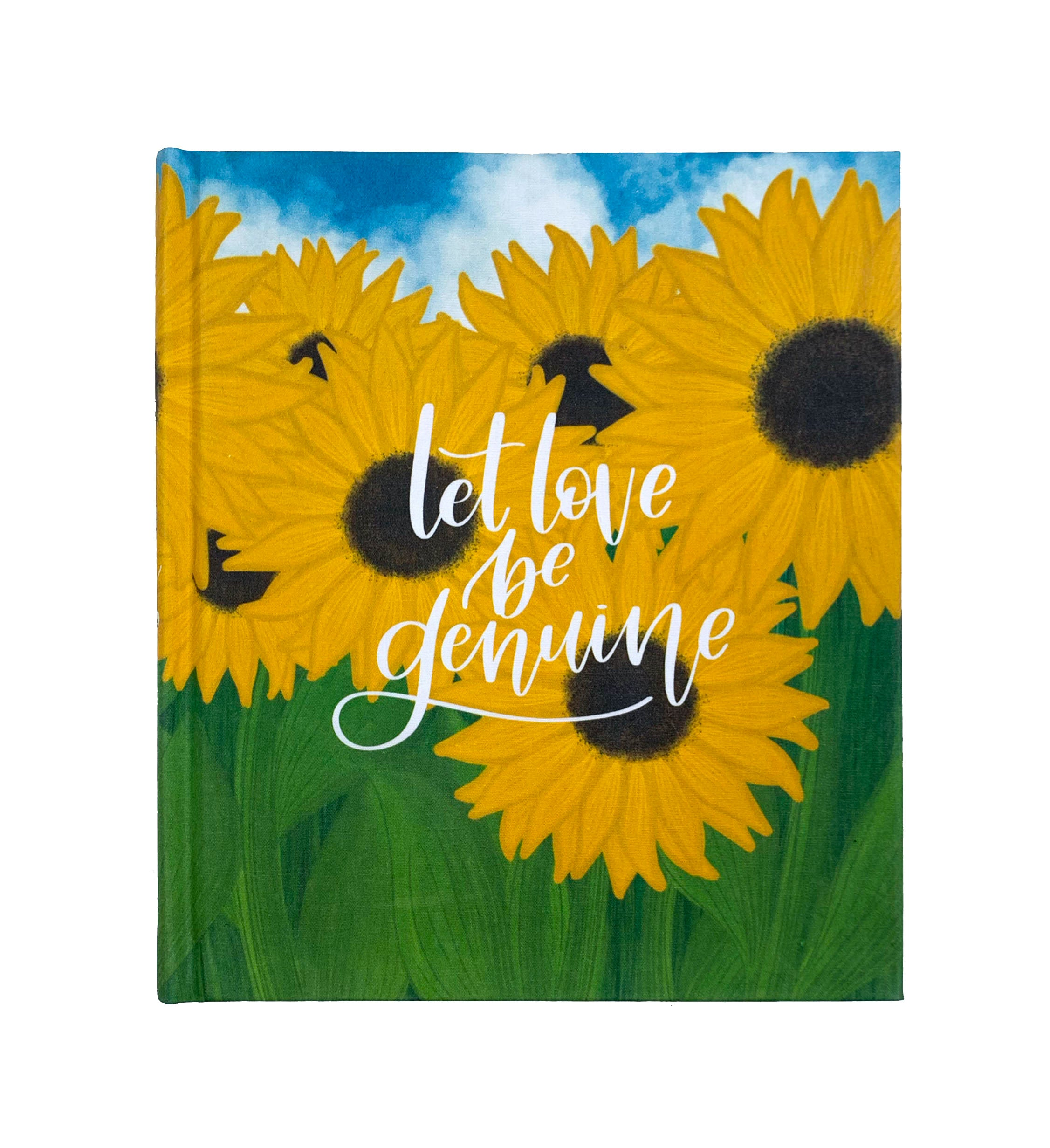 Sunflower ESV Journaling Bible - Bibles and Coffee