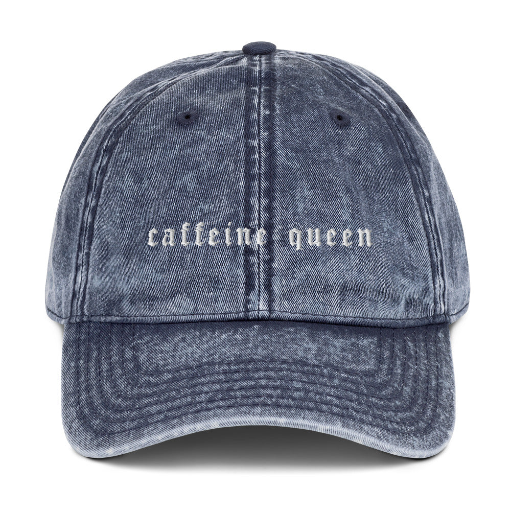 Caffeine Queen Embroidered Hat