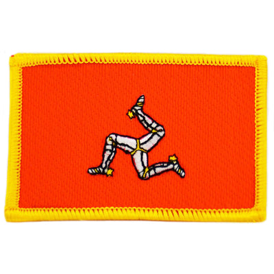 Isle of Man cloth patch