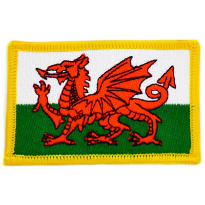 Wales cloth patch