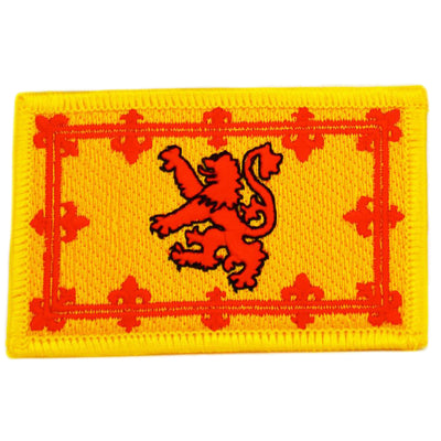 Scotland Lion Rampant cloth patch