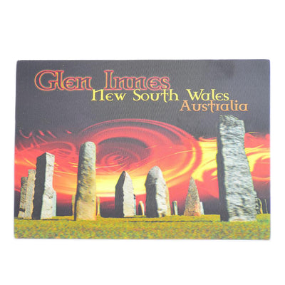 Standing Stones at Sunset Postcard