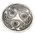 Celtic Knot Round Dish