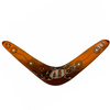 Decorative Boomerang Goanna Design