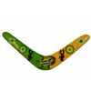 Decorative Boomerang 2 Men and Goanna Design