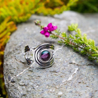 Heathergems Rannoch Swirl Ring