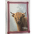 Highland Cow Linen Tea Towel