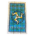 Isle of Man Tartan Tea Towel