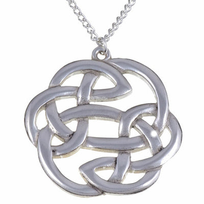 St Justin Lughs Knot Pendant