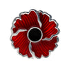 Poppy Plain Centre Brooch Brooch