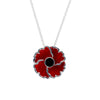 Poppy Pendant plain centre