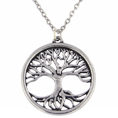 St Justin Tree of Life Pendant