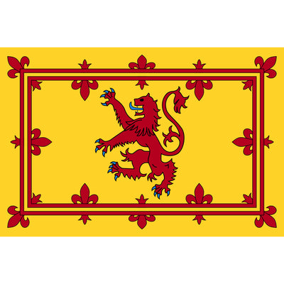 150 cm x 90 cm flag - Scotland Lion Rampant