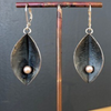 Sterling Silver Seed Pod Earrings
