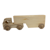 Small Wooden Semi-Trailer