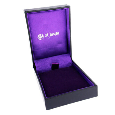 St Justin satin and velvet-lined gift box