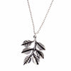 St Justins Sprig of leaves pendant