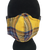 Yellow Tartan Face Mask