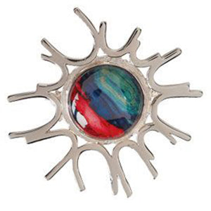 Cupar Silver Plated Brooch