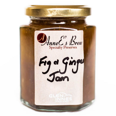 AnneE's Brew Speciality Preserves - Fig & Ginger Jam