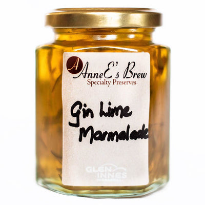 AnneE's Brew Speciality Preserves - Gin Lime Marmalade