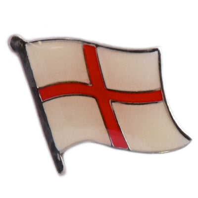 England St Georges Cross Lapel Pin