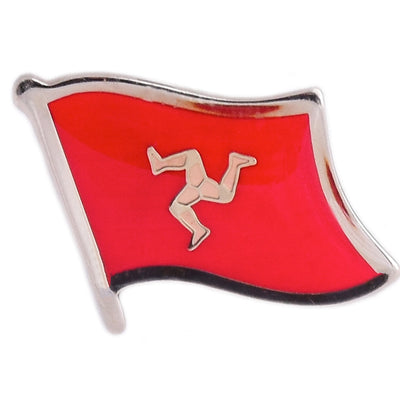 Isle of Man Lapel Pin