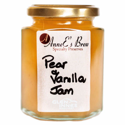 AnneE's Brew Speciality Preserves - Pear & Vanilla Jam