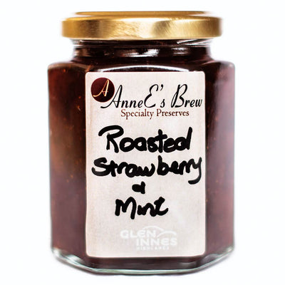 AnneE's Brew Speciality Preserves - Roasted Strawberry & Mint Jam