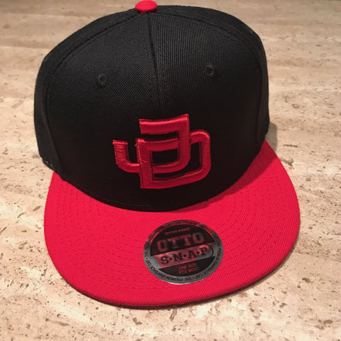 JD Snapback Black/Red