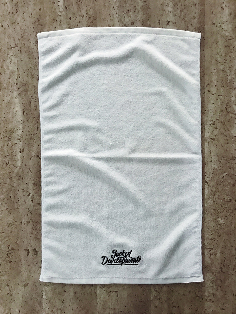 JD Gym Towel- Black