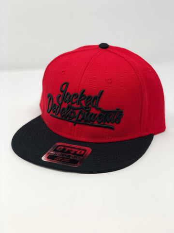 Red/Black retro snap back