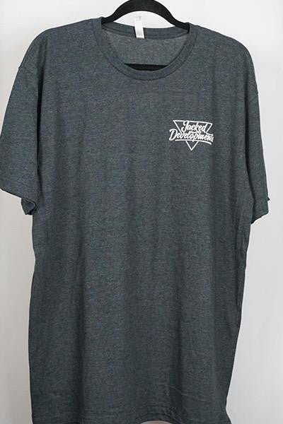 JD King Tee- Dark Grey