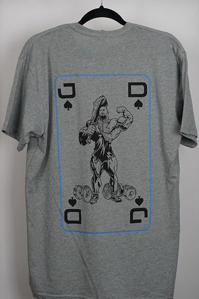 JD King Tee- Grey