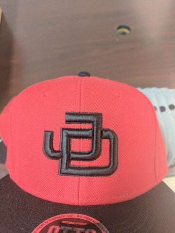 JD Snapback Red/Black