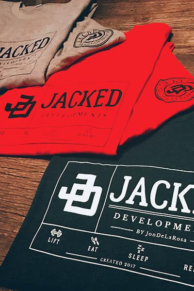 Jacked TShirt- Navy