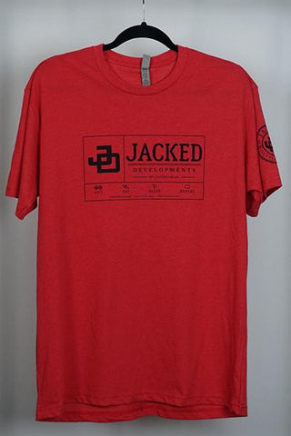 Jacked TShirt- Red