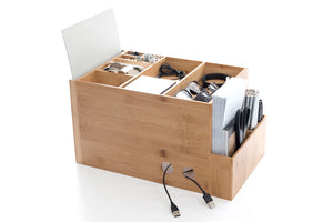 The Space Cube Desk Organiser + Docking Station.