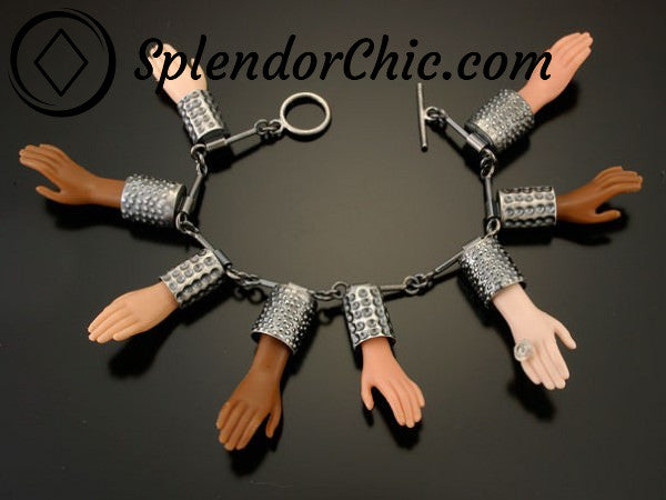 Chopped Up Barbie Doll Bracelet