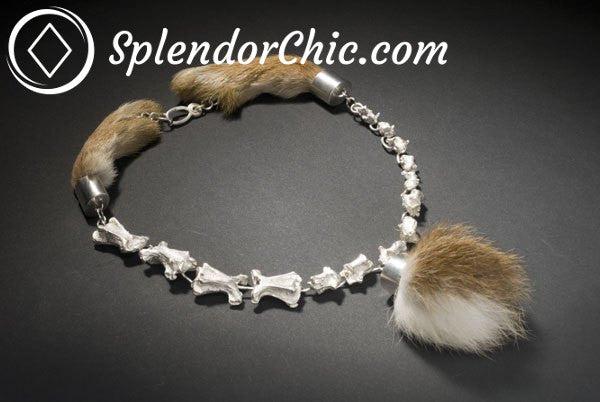 Roadkill Jewellery Bone Necklace