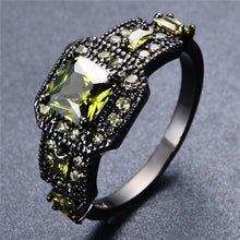 Black Gold Filled, Darkness Ring, Invious Intentions - Splendor Chic